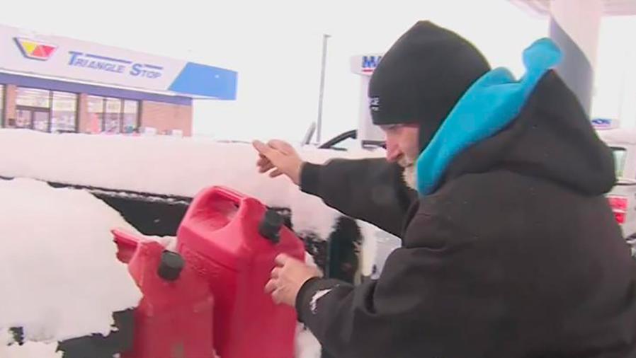 La nieve cubrirá gran parte del noreste y centro de los Estados Unidos