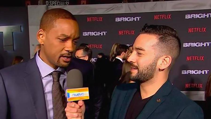 """Will Smith, Jay Hernández, Édgard Ramírez y Noomi Rapace nos hablan sobre """"Bright"""""""