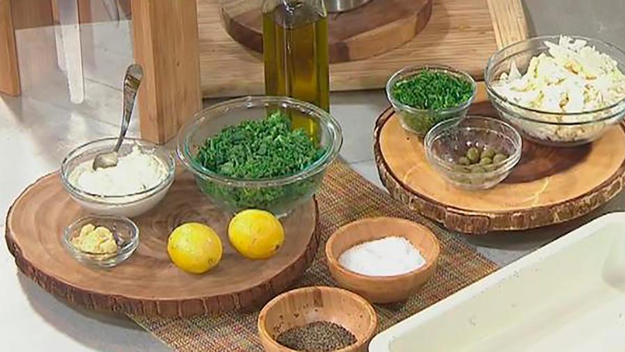 Recetas de cocina: Descubre cómo hacer una Pizza con Coliflor, Queso Ricotta y Col Rizada