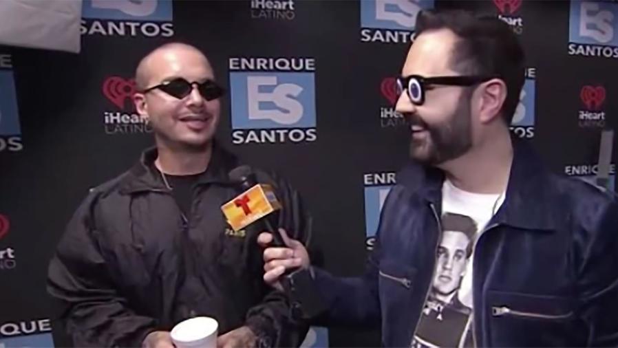"""Enrique Santos entrevistó a J Balvin quién nos contó todo sobre su nuevo video """"Machika"""""""