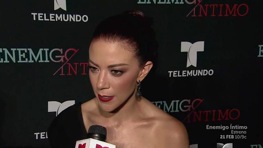 Fernanda Castillo, protagonistas de Enemigo Íntimo, habla sobre la tragedia de San Valentín