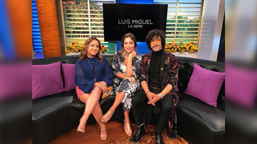 Nos visitan Oscar Jaenada y Paulina Dávila, protagonistas de la serie de Luis Miguel