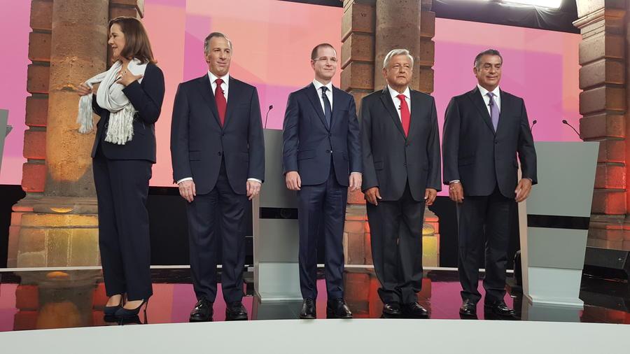 El primer debate presidencial en México se centrará en seguridad y corrupción