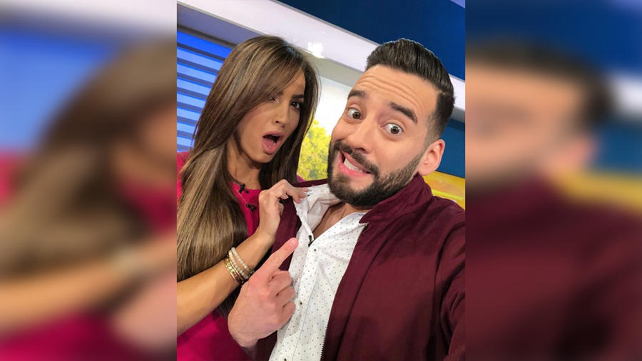 Adamari López y Francisco Cáceres nos traen todas las noticias del mundo de la farándula