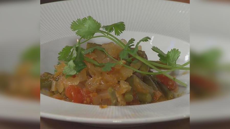 Recetas de cocina: Guisado de Habichuelas Verdes y Cola de bolsa en cocción lenta