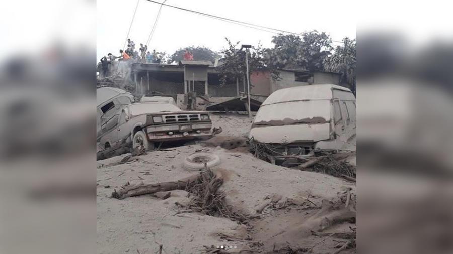 El Volcán de Fuego hizo erupción en Guatemala y ya se reportan 25 muertos
