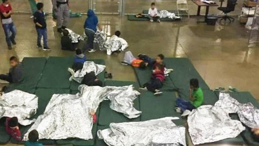 niños detenidos