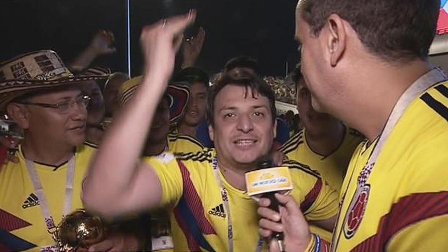 colombianos se emocionan