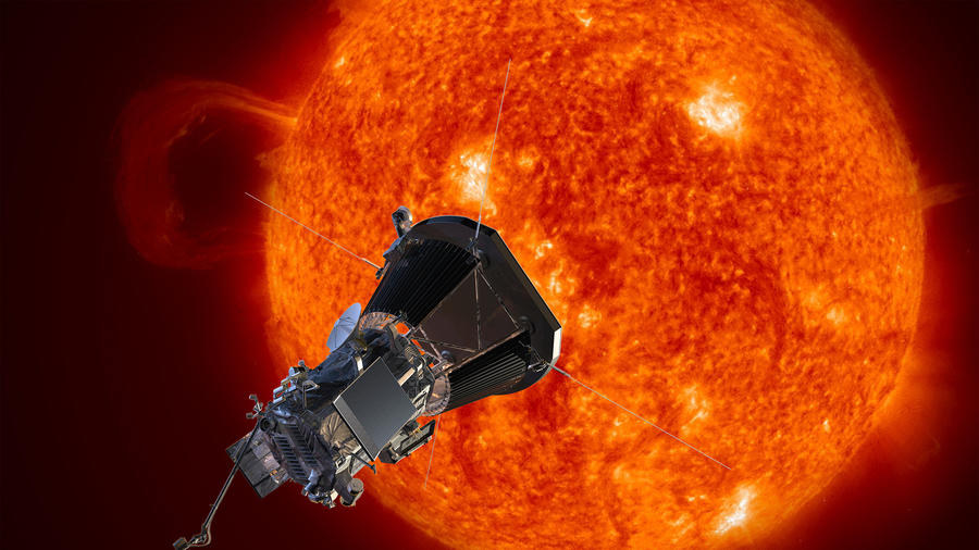 Foto de archivo proporcionada el 31 de mayo de 2107 muestra la nave espacial Solar Probe Plus de la NASA acercándose al sol.