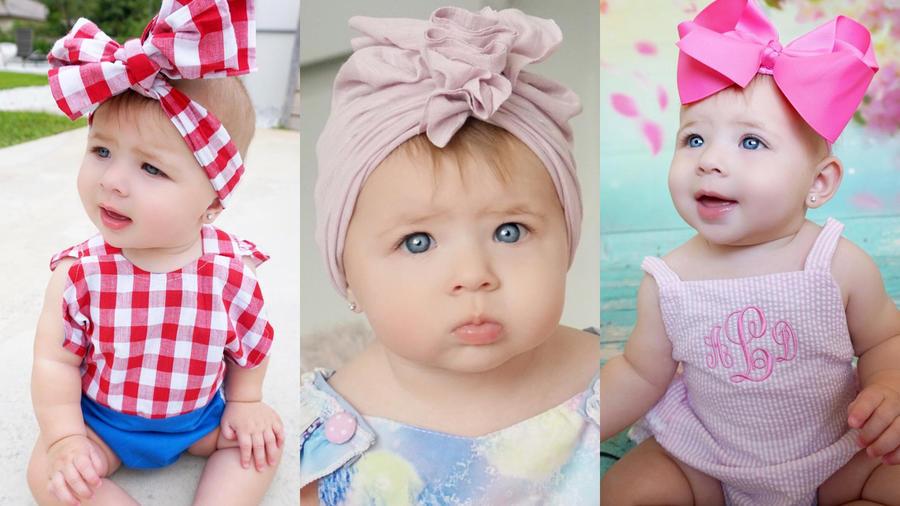 Luna la más niña más fashion