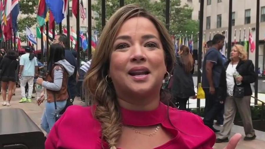 Adamari López en Nueva York