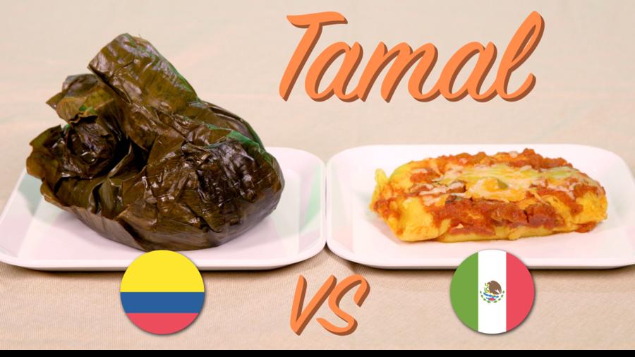Colombian tamal, Mexican tamal