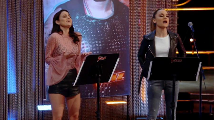 Yailenys Perez y Lia La Vecchia