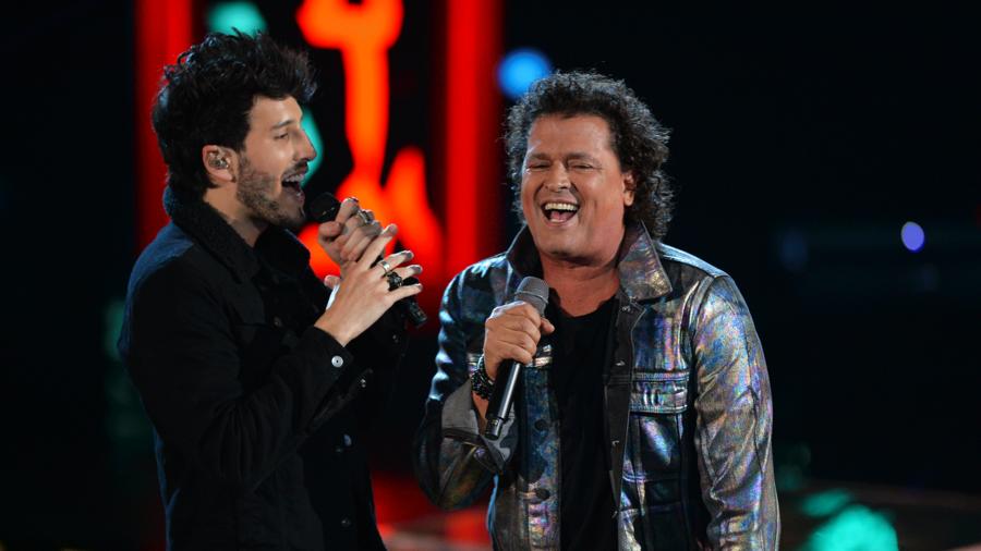 Carlos Vives y Sebastian Yatra La Voz