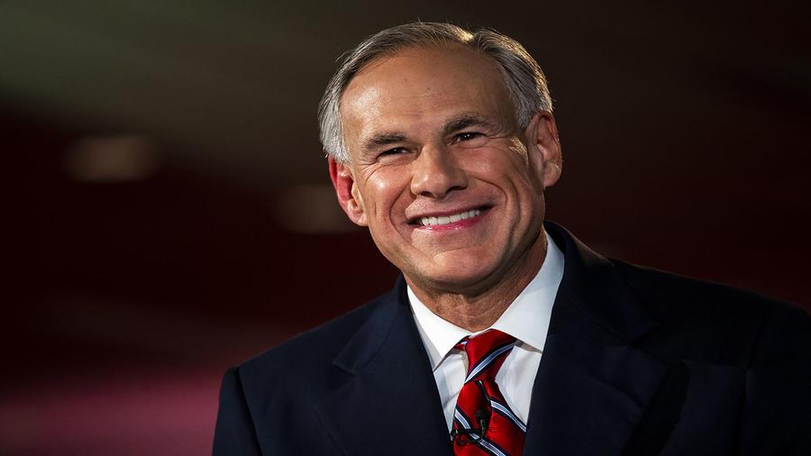 Greg Abbott, gobernador de Texas.