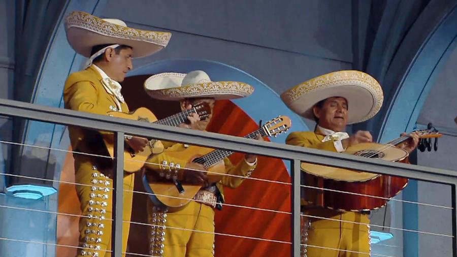 Los mariachis llegan a ponerle sabor al reto mexicano