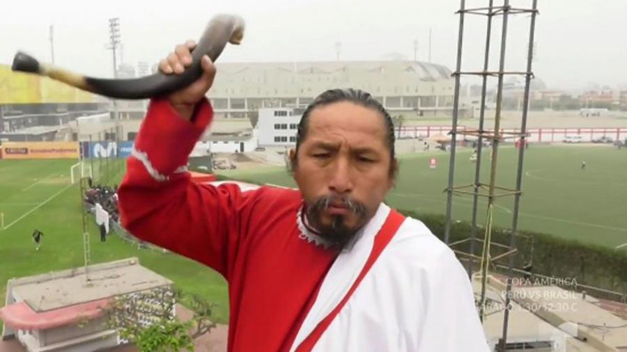 David Chauca, fan de Perú