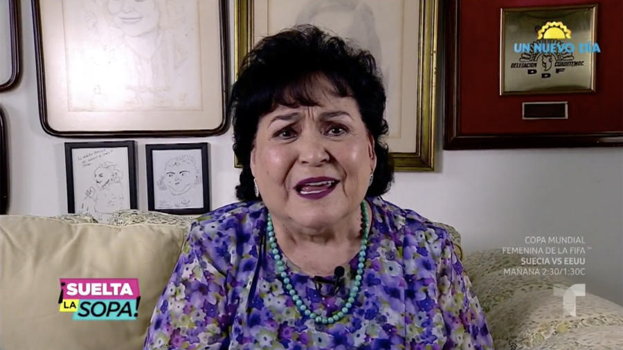Carmen Salinas le responde con todo a Niurka Marcos (VIDEO)