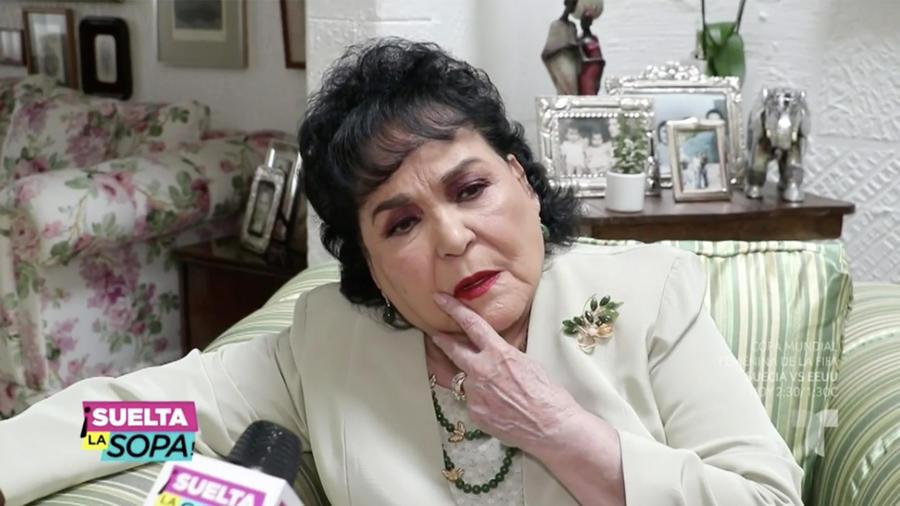 Carmen Salinas no quiere hablar de Niurka Marcos (VIDEO)