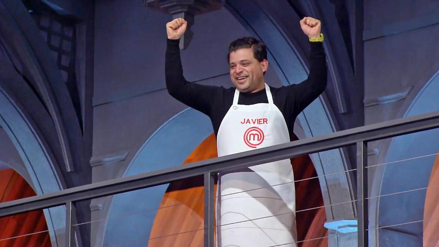 Javier fue el ganador del primer reto