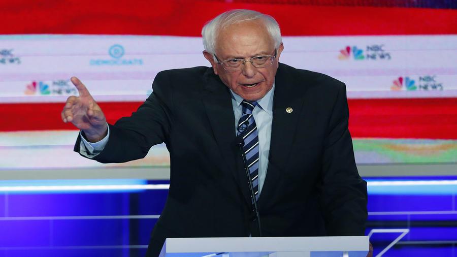 El senador demócrata Bernie Sanders.