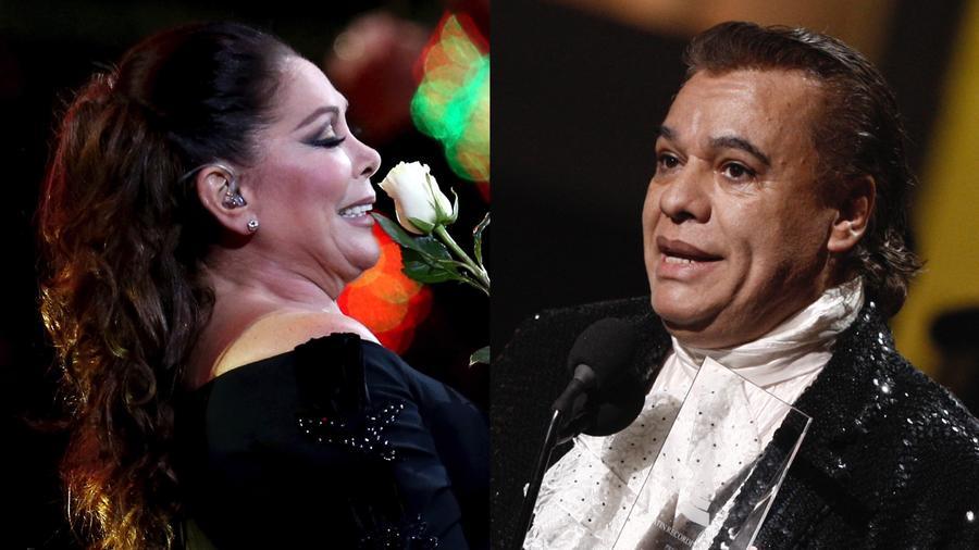 Isabel Pantoja y Juan Gabriel