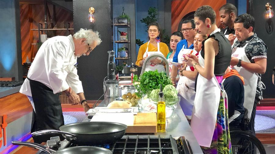 Chef Ennio Carota imparte masterclass de cocina italiana en MasterChef Latino 2