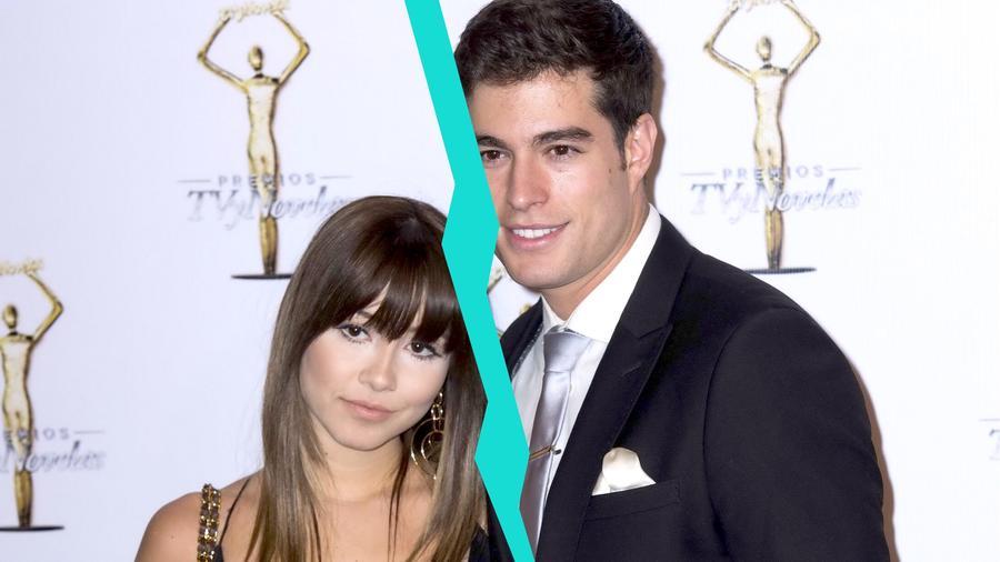 Danilo Carrera junto a su ex esposa Ángela Rincón