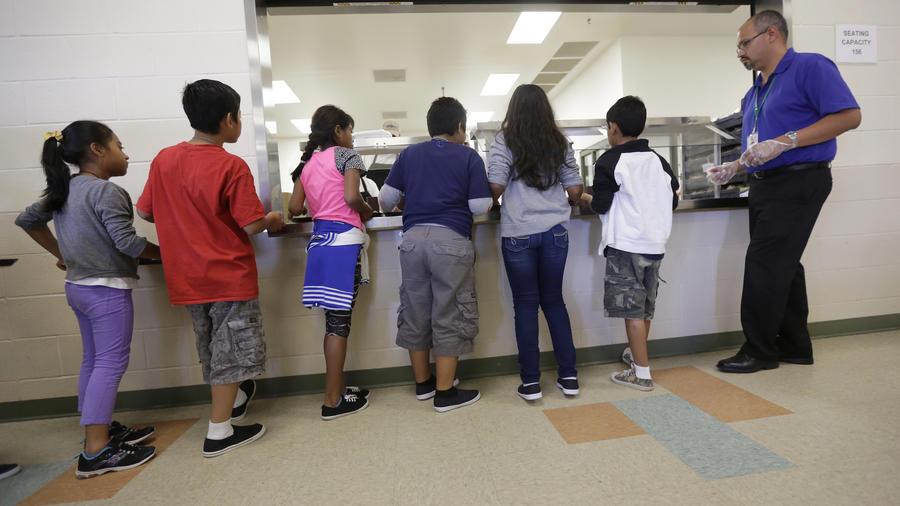 Imagen de archivo de un centro de detención de migrantes en Karnes City, Texas.