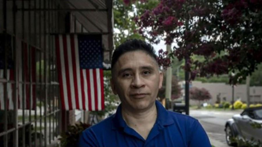 Manuel Durán, periodista salvadoreño detenido por ICE