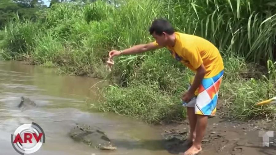 Lo llaman el Príncipe de los Cocodrilos
