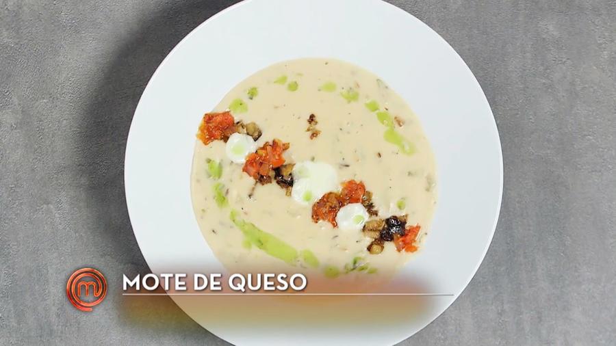 Mote de queso de Sara Ordoñez en MasterChef Latino 2