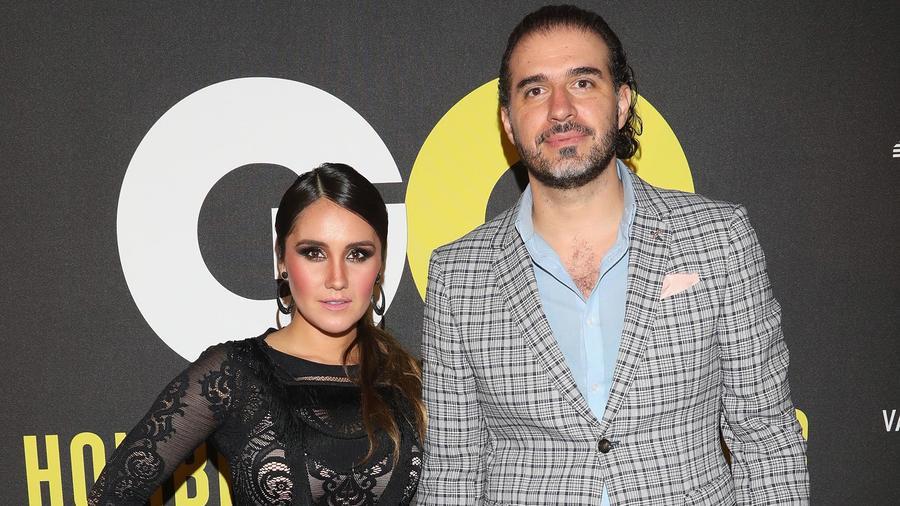Dulce María y Paco Álvarez