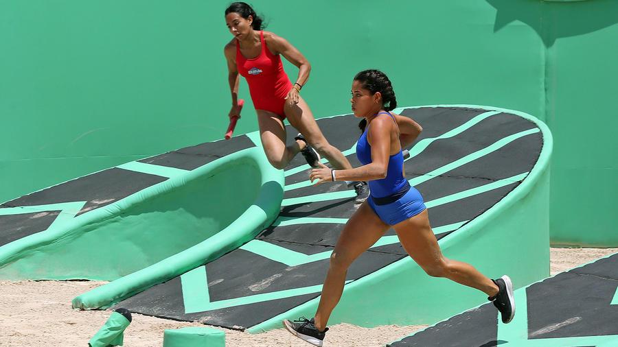 Denisse y Aridt corren en duelo de relevos