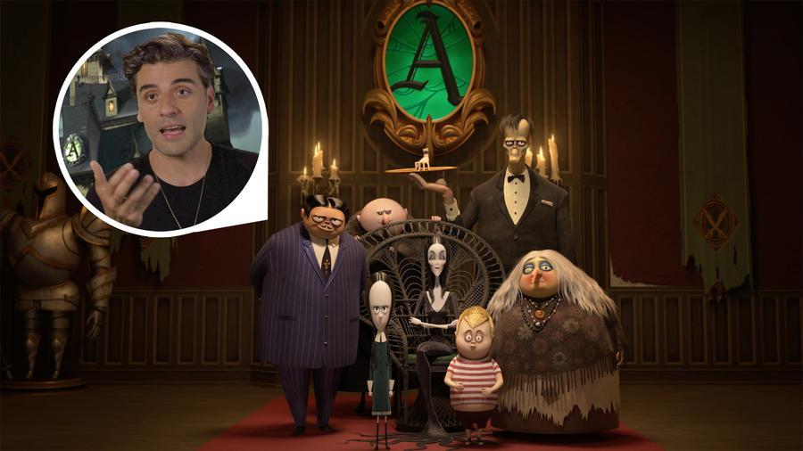 Oscar Isaac as Gomez Addams in Addams Family