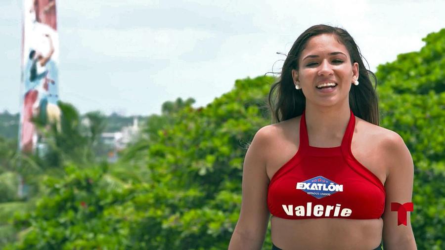 Valerie es entrevistada en Telemundo
