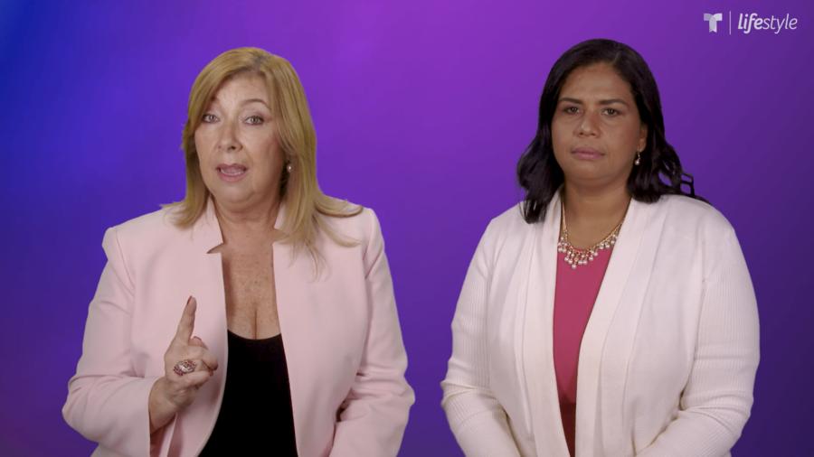 Violencia doméstica Wanda Gomez y María Mercedes Becerra