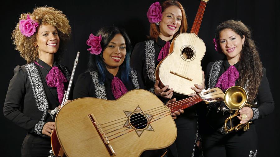 Domenica Fossati, Mireya Ramos, Shae Fiol, and Julie Acosta