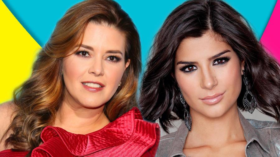 Alicia Machado y Julia Horta