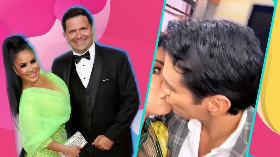 Carolina Sandoval, Nick Hernández y David Zepeda