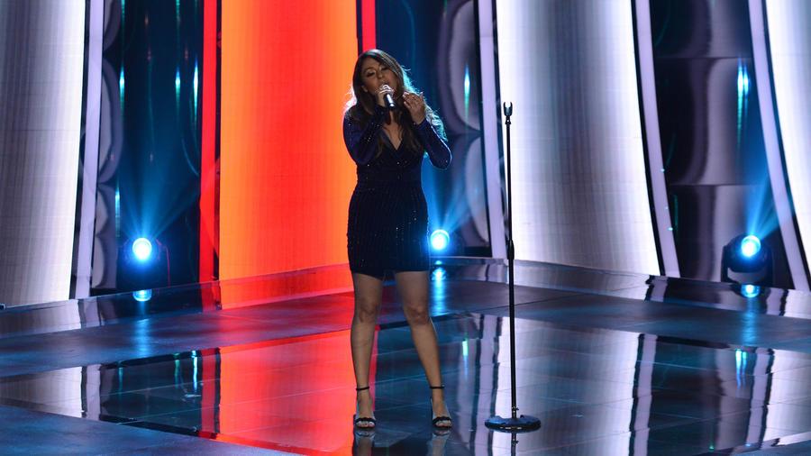 Lizette Rubio en las audiciones a ciegas de La Voz US 2