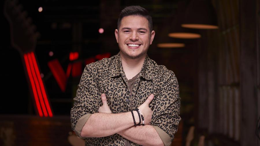 Steven Sibaja, participante del Team Guzmán en La Voz US 2