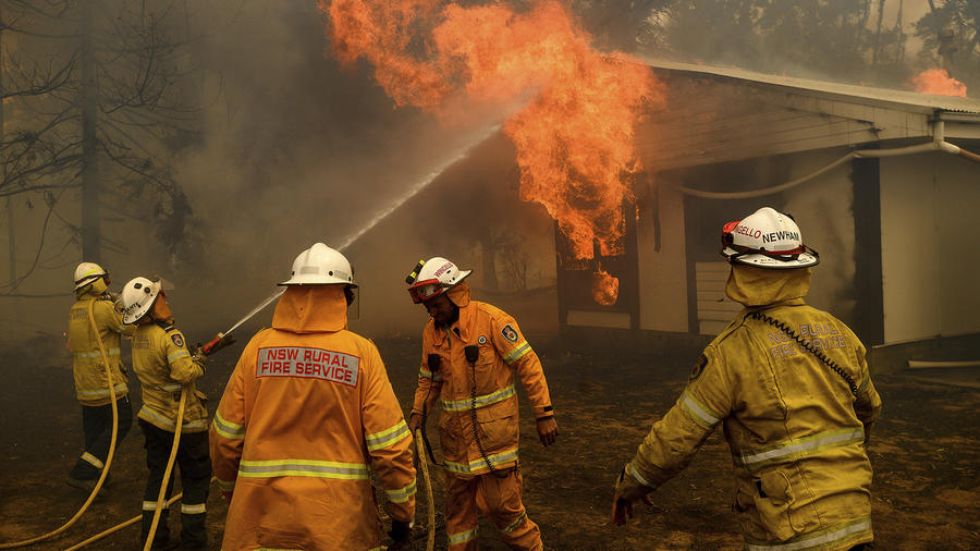Incendios en Australia.
