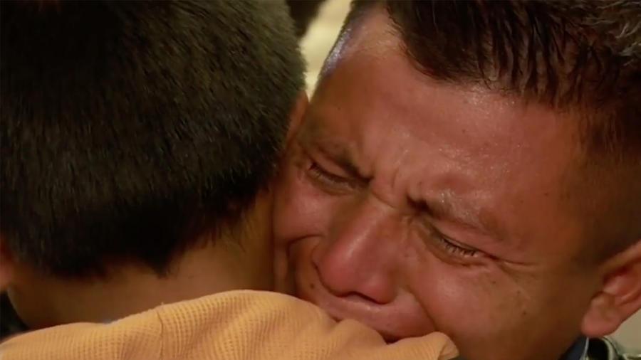 Padres deportados se reencuentran con sus hijos
