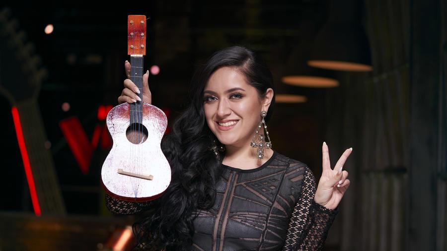 Janine Rivera, participante de La Voz US 2, Team Wisin