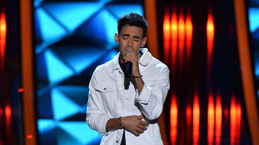 Gabriel Alejandro Arredondo en las audiciones a ciegas de La Voz US 2