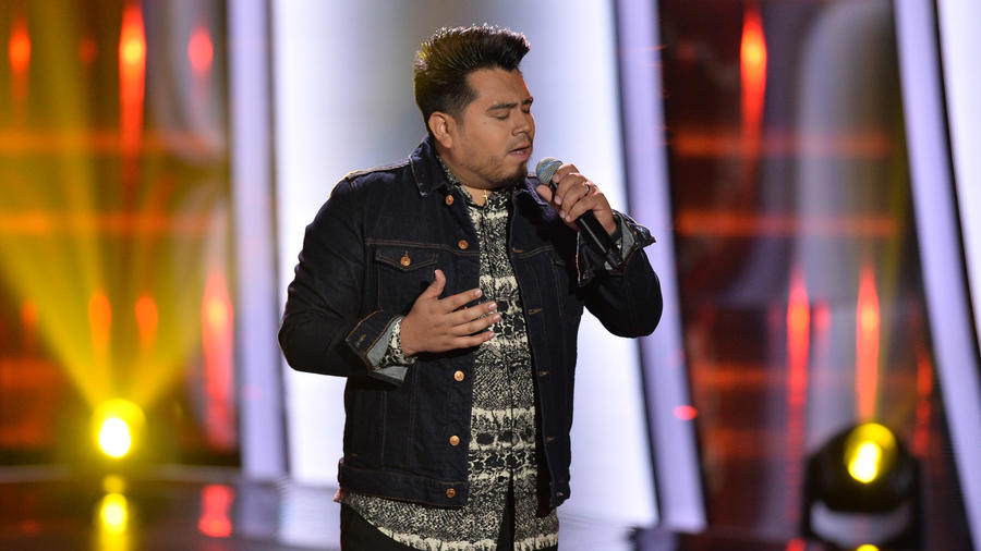 Julio Cesar Castillo en las audiciones a ciegas de La Voz US 2