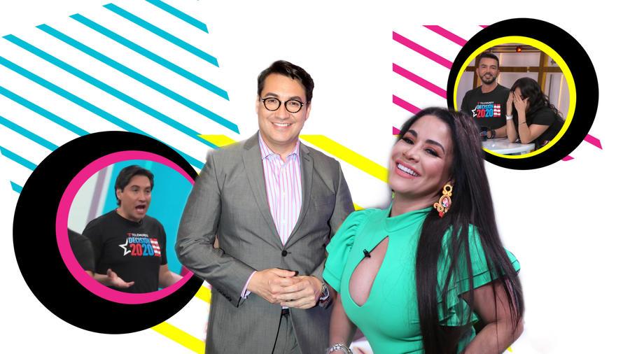 Lucho Borrego y Carolina Sandoval