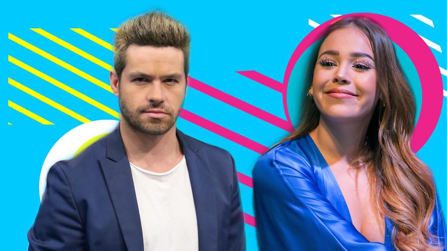 Eleazar Gómez y Danna Paola
