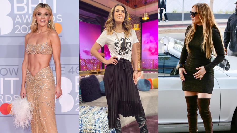 Ashley Roberts, Jacky Bracamontes y Jennifer Lopez